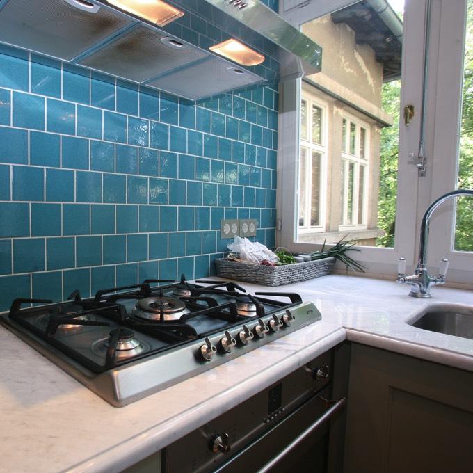 41 id es de peinture pour la cuisine les couleurs les plus tendances for Peinture pour plan de travail cuisine