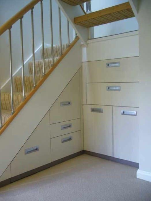 Placard Sous Un Escalier   Exemples Et Bonnes Pratiques