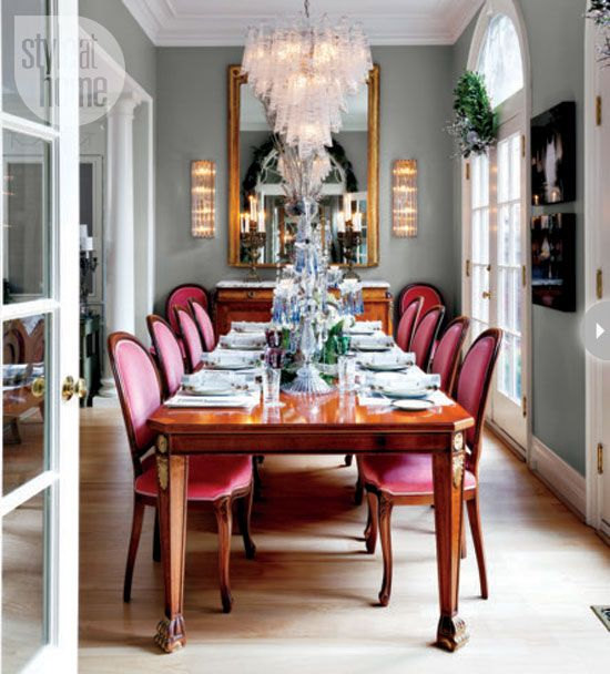 Salle manger taupe et fushia 12 mod les pour sublimer for Grand miroir salle a manger