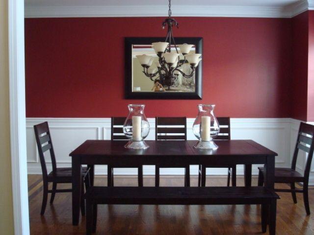Salle à manger rouge (11 modèles modernes et traditionnels