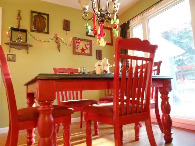 Salle à manger rouge (11 modèles modernes et traditionnels)