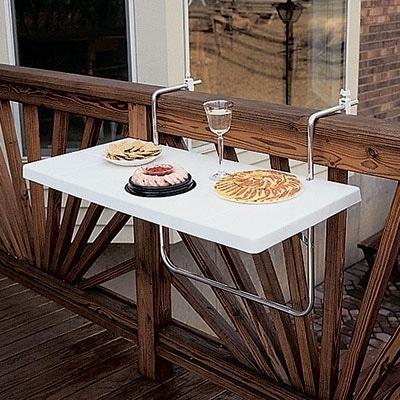 Agencement d\'un balcon étroit : 9 manières d\'optimiser un petit espace