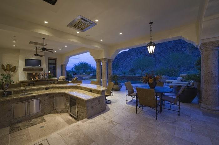 Am nagement d 39 une cuisine d t ouverte 35 mani res de l for Organiser sa terrasse
