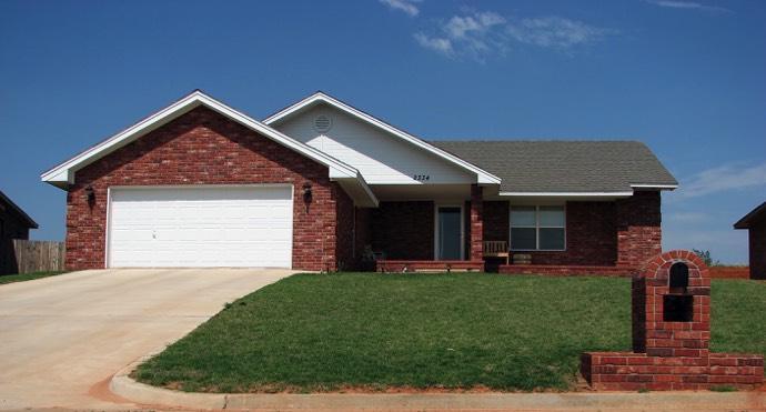 maison brique rouge maison 5 pices 104 m faade de. Black Bedroom Furniture Sets. Home Design Ideas