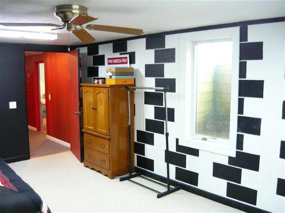 Mur de parpaing comment le monter et l embellir en 8 tapes for Monter un meuble mural