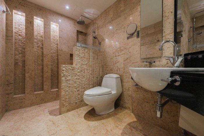 Pose d'une douche à l'italienne