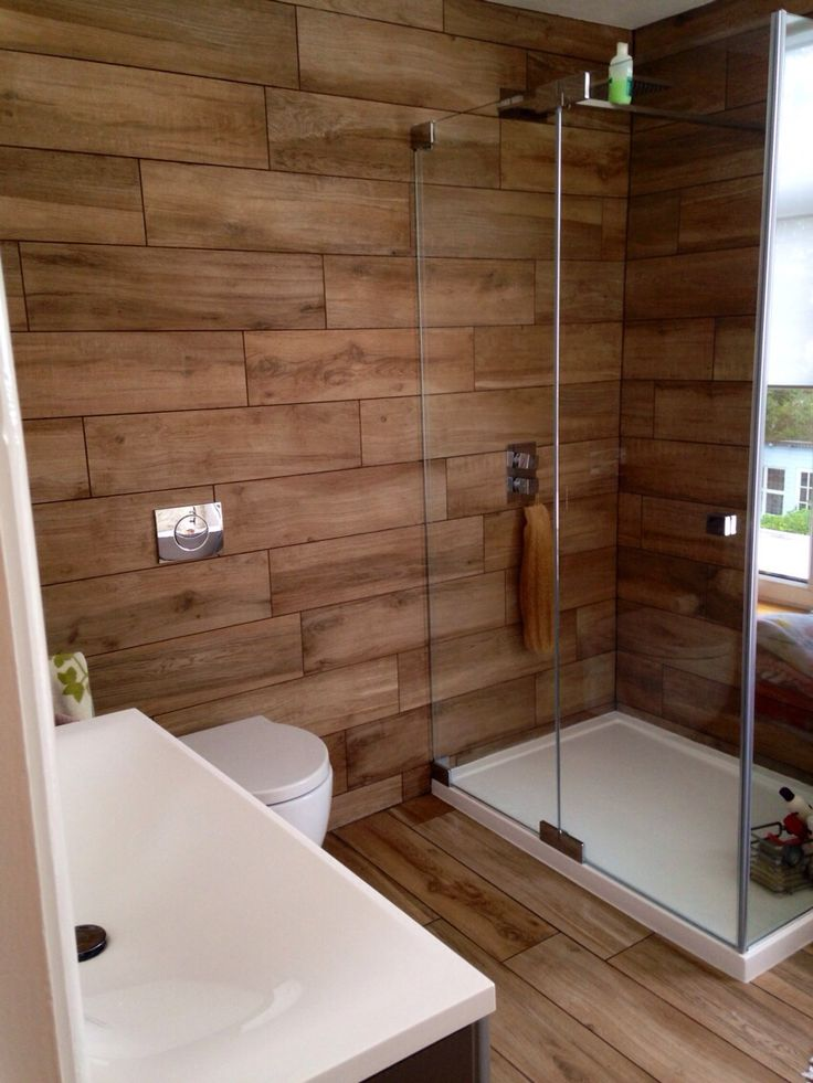 douche en bois 15 designs la douche de charme par. Black Bedroom Furniture Sets. Home Design Ideas