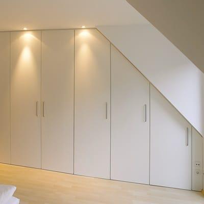 Free vu with placard pour chambre mansarde - Peinture stucco chambre a coucher ...