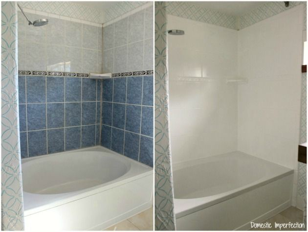 how to paint bathroom tiles in a shower comment peindre ou repeindre une 6 233 simples 26410
