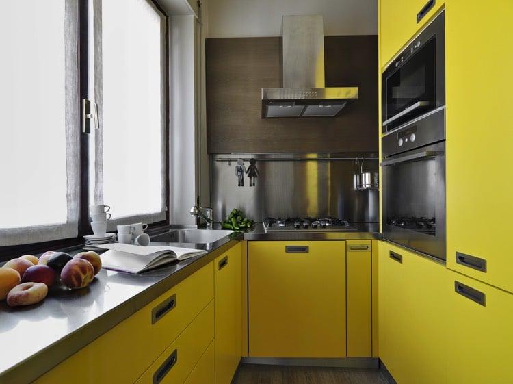 plan de travail de cuisine 40 designs guide complet. Black Bedroom Furniture Sets. Home Design Ideas
