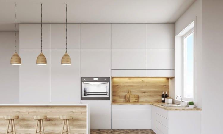 Plan de travail de cuisine 40 designs guide complet for Cuisine style nordique