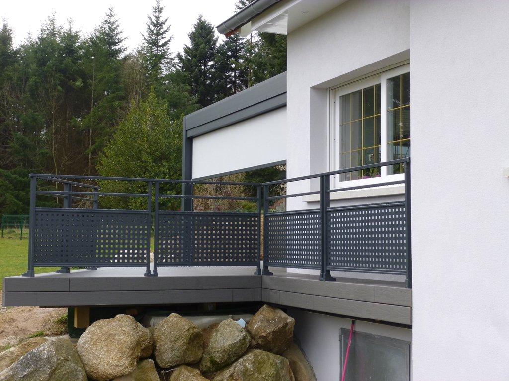 Garde corps en verre et inox pour son balcon ou sa terrasse le guide d achat for Garde corps terrasse