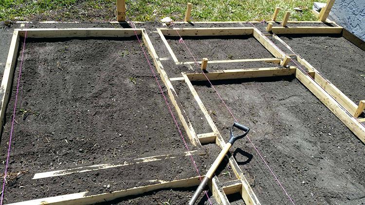 construire une terrasse en b ton les 6 tapes expliqu es. Black Bedroom Furniture Sets. Home Design Ideas