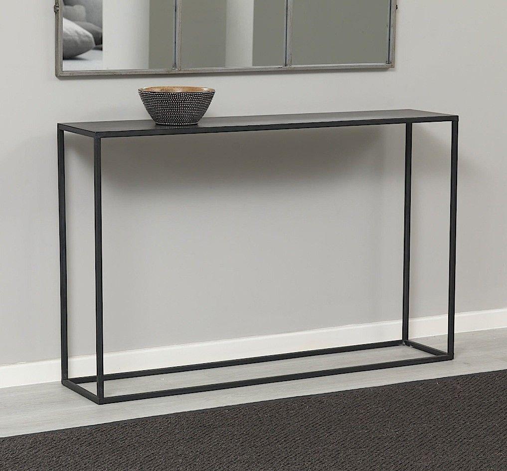 ... Fabriquer Une Table Console De Style Industriel Moderne Très  Minimaliste ...