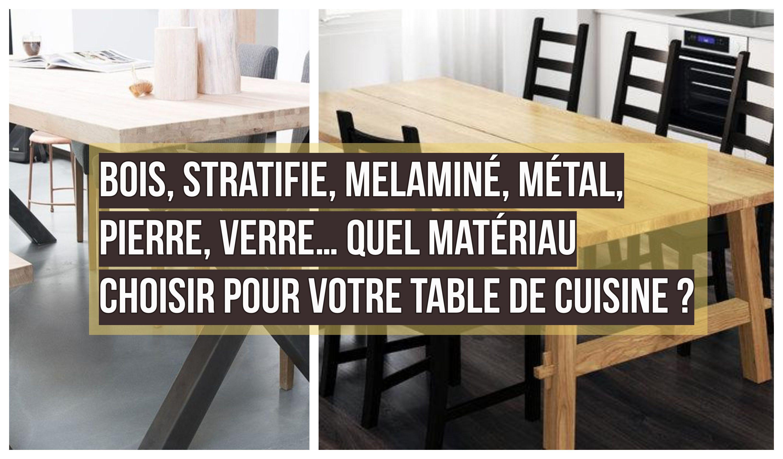 Bois, Métal, Pierre, Verre… Quel Matériau choisir pour Votre ...