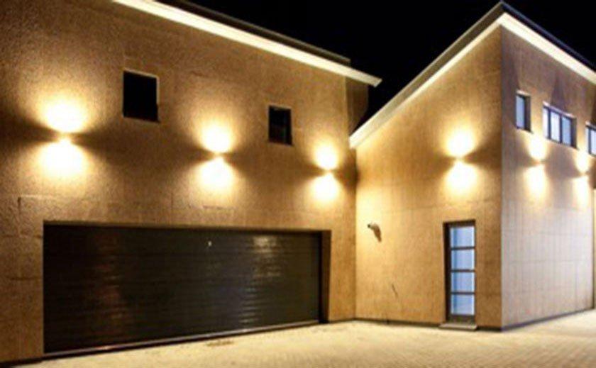 Spot led lampe solaire applique d co comment choisir son clairage ext rieur - Eclairage facade maison ...