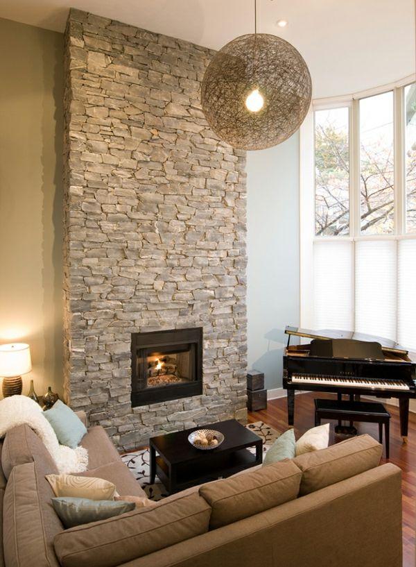 comment habiller une chemin e avec des plaquettes de parement. Black Bedroom Furniture Sets. Home Design Ideas