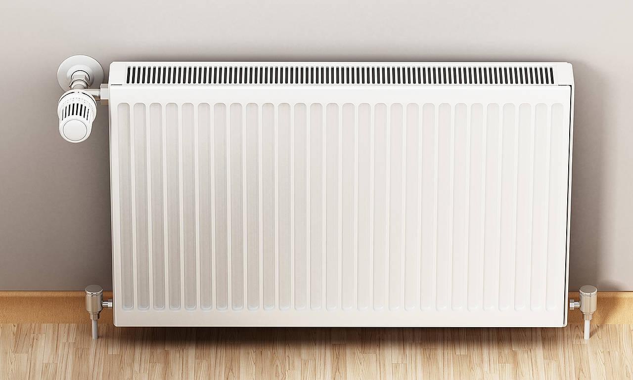Un radiateur au gaz