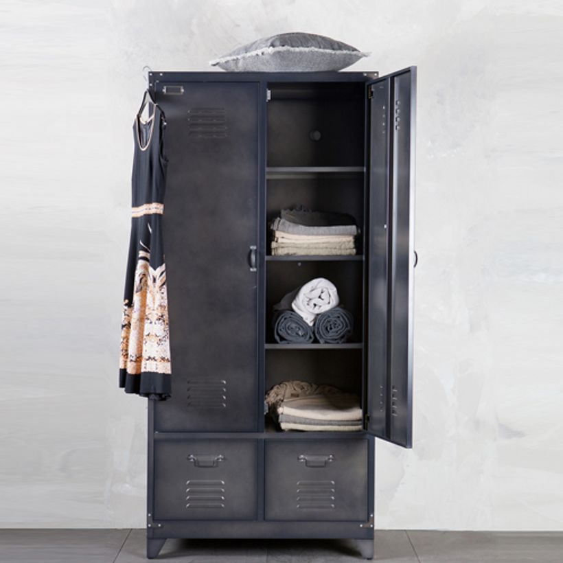 armoire metallique anthracite